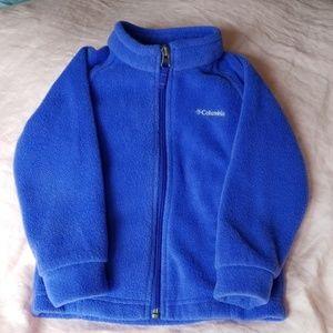 Columbia Fleece 2T Jacket Periwinkle Blue
